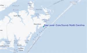 sea level sound carolina tide station