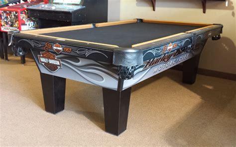 harley davidson laminate pool table by olhausen billiards