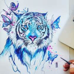 Culture n lifestyle mesmerizing animal watercolor portraits by