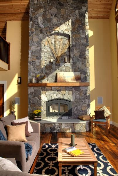 fireplace ideas linwood custom homes