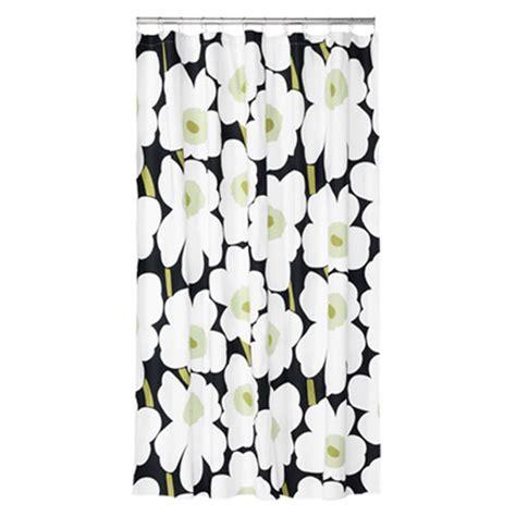 marimekko shower curtain marimekko unikko black cotton shower curtain marimekko