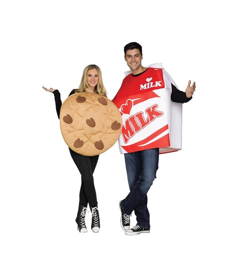 cookie costume cookie and milk couples costume food costumes