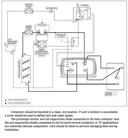 Electric Car Conversion Diagram Ev Conversion Schematic