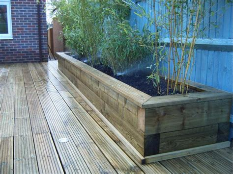 Joining Railway Sleepers by Raised Bed Using Sleepers Diynot Forums