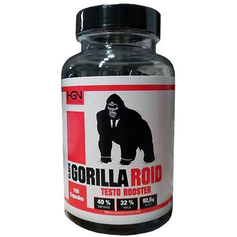 il gorilla testo hgn black gorilla roid testo booster 100 caps hgn