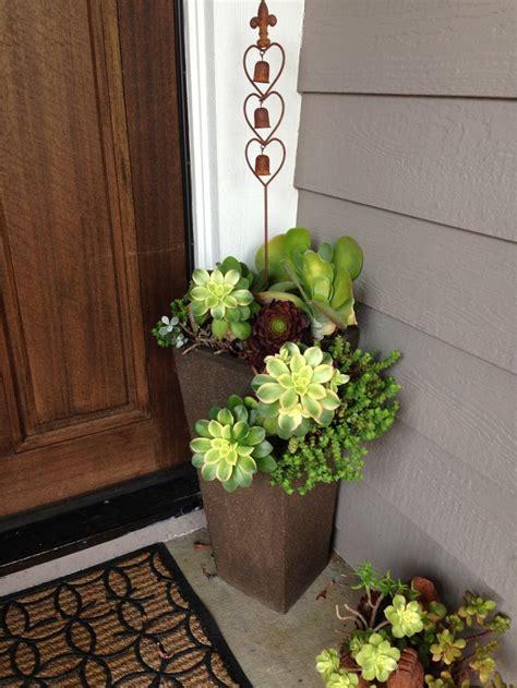 garden  bliss potted plants outdoor door planter
