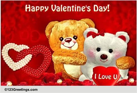 123 greetings for valentines day of my free happy s day ecards