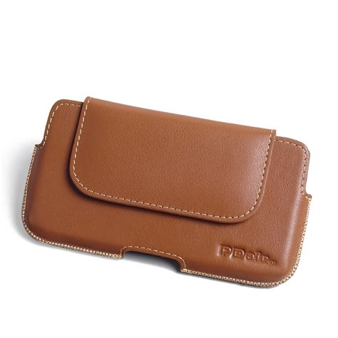 Ht Pouch htc 10 leather holster pouch brown pdair wallet