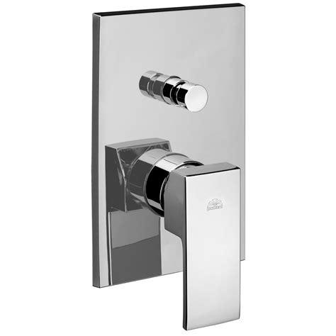 rubinetto paffoni paffoni level miscelatore da incasso doccia con deviatore