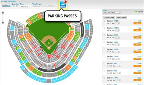 dodger stadium parking guide   park  dodgers game