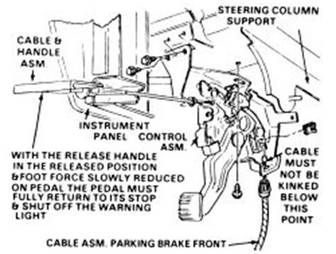 repair anti lock braking 1996 oldsmobile ciera head up display repair guides parking brake cables autozone com