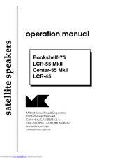 Mk sound LCR-55 LCR-45 Manuals | ManualsLib