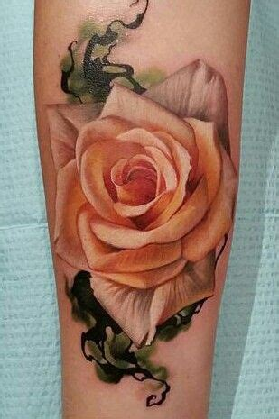 peach rose tattoo best 25 ideas on coral roses