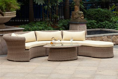 outdoor furniture circular couch decorating circular patio furniture dawndalto decor