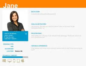 ux persona template pin portfolio pages on