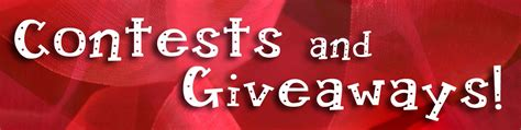 2014 Contests And Giveaways - contests giveaways deborah heal