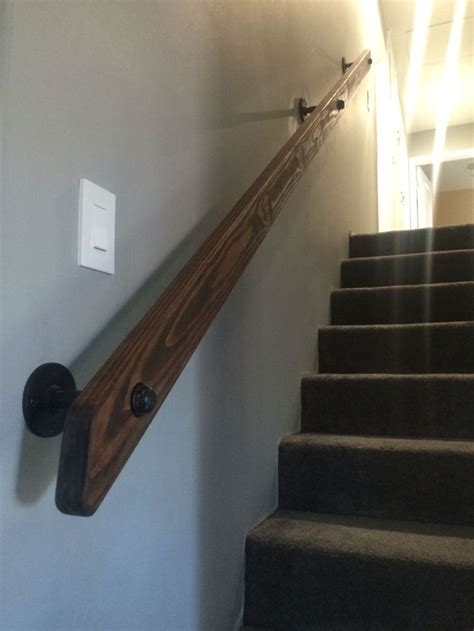 best 25 wood handrail ideas on e m stairs and
