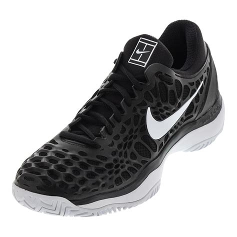 black and white sneakers mens nike s air zoom cage 3 hc tennis shoes