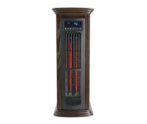 lifepro infrared tower space heater with mini fireplace
