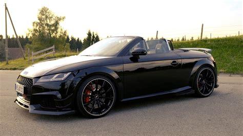 Audi Tt Rs Sound by 2018 Abt Audi Tt Rs R Roadster Exterior Interior