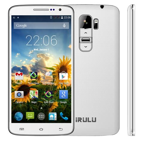 4 Phones For 40 Irulu U2 Smartphone 5 0 Android 4 4 Cell Phone Mtk6582 8gb Dual Sim Qhd Lcd 13mp