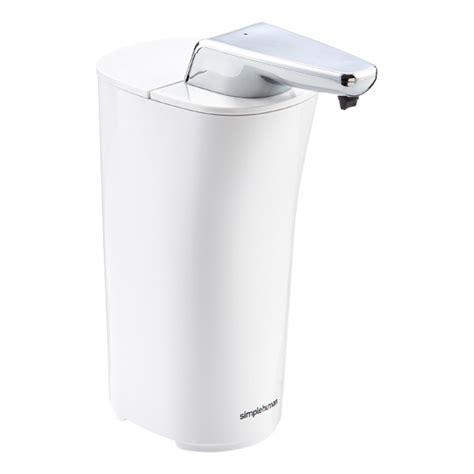 Simplehuman Shower Soap Dispenser by Simplehuman White Sensor Soap The Container Store