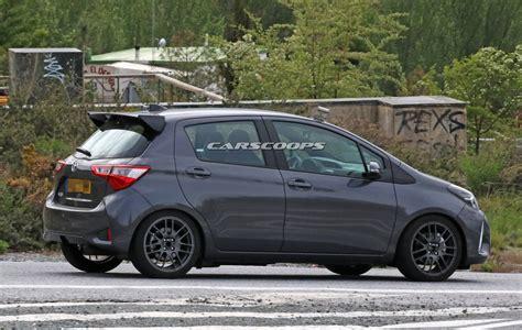 Toyota Yaris 2018 2018 toyota yaris grmn spotted dubai abu dhabi uae