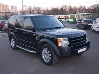 how things work cars 2006 land rover discovery lane departure warning 2006 land rover discovery photos 2 7 diesel automatic for sale