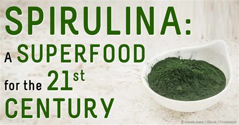 3 Green Spirulina Superfoods spirulina a luxury health food that can help fight
