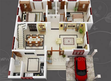 3d house plans floor plans on floor plans