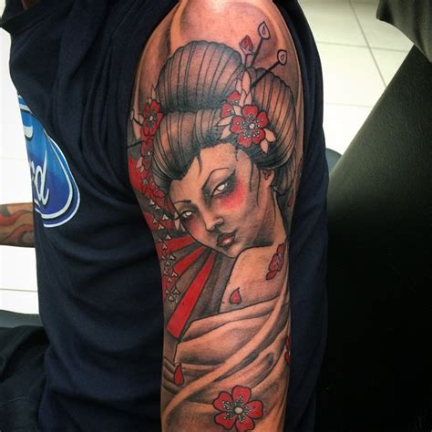50 japanese geisha tattoo meaning and designs