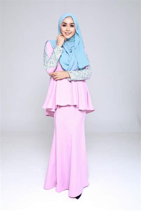 Baju Kurung Pink Lembut baju kurung moden doll pastel pink paddlepop lovelysuri