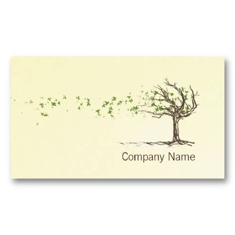 tree card template 20 best images about tree service business cards on
