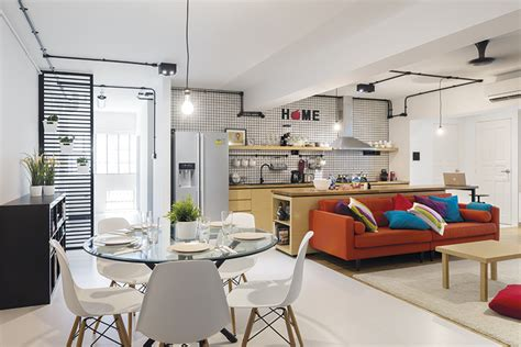 kitchen island designs  fit singapore homes