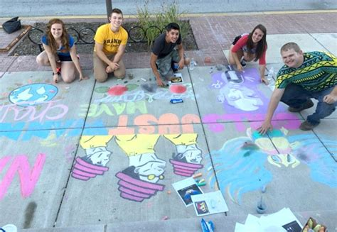 mount comfort elementary mvhs s national art honor society wins rock the chalk