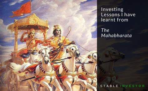 quotes film mahabharata investing lessons i have learnt from the mahabharata