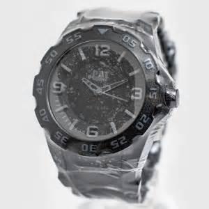 Jam Tangan Pria Wanita Sport Murah Cat 163837 Premium Beown White jam tangan original caterpillar lb 111 21 131 jual jam tangan original berkualitas