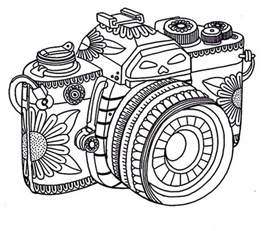 tribal camera in photography coloring page jpg 600 215 516