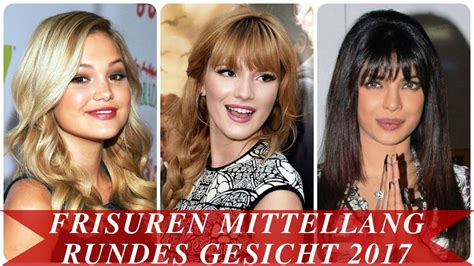 frisuren mittellang rundes gesicht  youtube