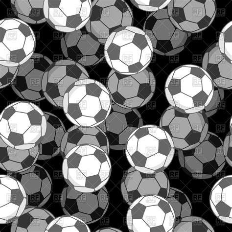 sport pattern background free sports background with soccer balls seamless pattern