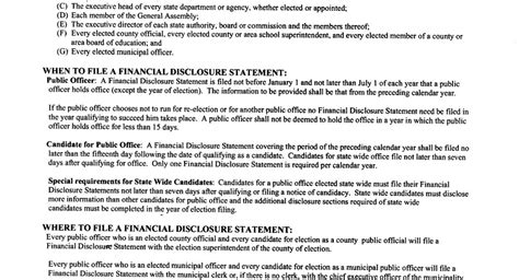 Financial Disclosure Letter moreno for camden county commissioner district 4