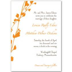 Free Printable Wedding Invitation Templates by Free Printable Wedding Invitations To