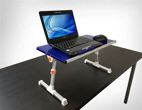 laptop stand up desk 10 best collection of portable notebook laptop stand