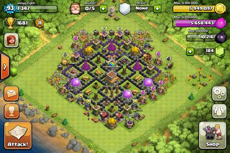 offensive layout in coc defensive layout and offensive army needed