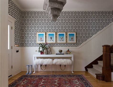 foyer wallpaper foyer decorating ideas that reflect and sophistication