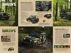 Willys Jeep Wrangler Special Edition La Auto Show 2014 Jeep Wrangler Willys Edition Connect