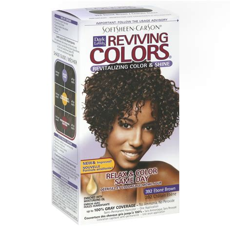Dark And Lovely Reviving Colors Semi Permanent Haircolor 393 | dark and lovely reviving colors semi permanent haircolor