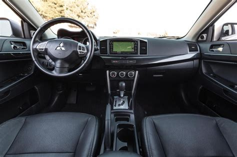 mitsubishi lancer 2016 interior 2016 mitsubishi lancer revealed still not