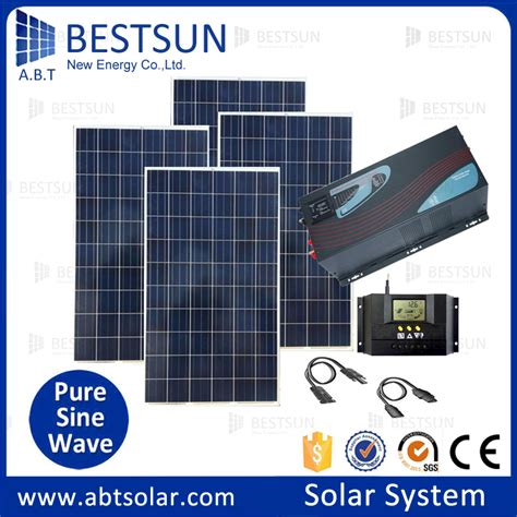 solar power system kit for home aliexpress buy collapsible solar panel portable solar home system kit including solar