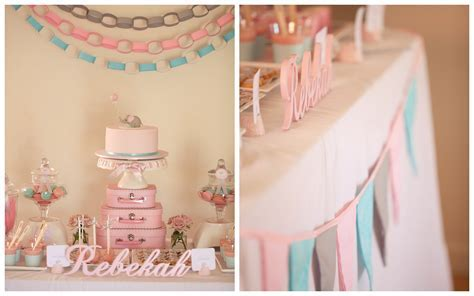 Pink Decoration Idea for Christening Baby Girl Party